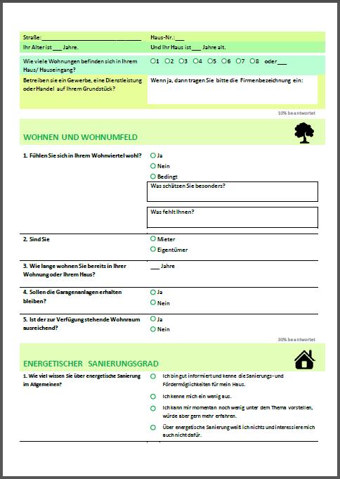 Fragebogen cover